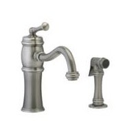 Kitchen Faucet with Sidespray